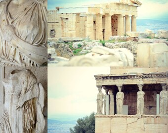 The Acropolis Collection, Athens, Greece, Ancient Greece, Historical Greece, Ancient Architecture, Fine Art Print