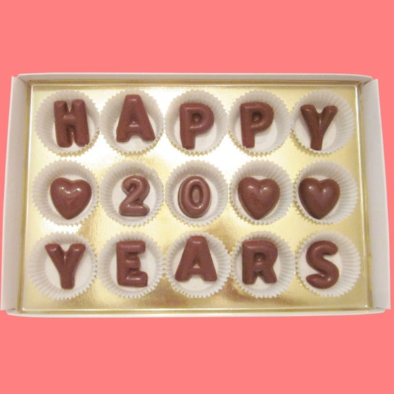 Happy 20 Years 20th Wedding Anniversary Gift Parents Couple