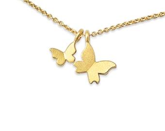 edles Geschenk zum Muttertag, hochwertige Mutterkette aus 750 Gold