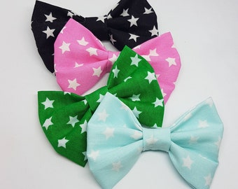 Bowtie StarFluffs (Black, Pink, Green and Mint)