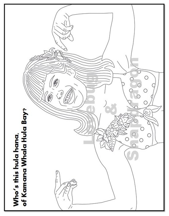 Dirty Dancing Coloring Book Instant Printable Digital File