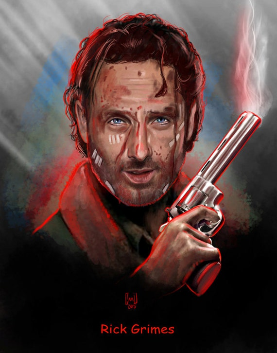 Rick Grimes Portrait