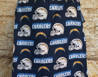 San Diego Chargers Nursing Cover Up - Nursing Apron - Breastfeeding Cover