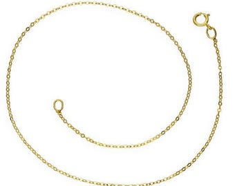 9ct Yellow Gold Anklet