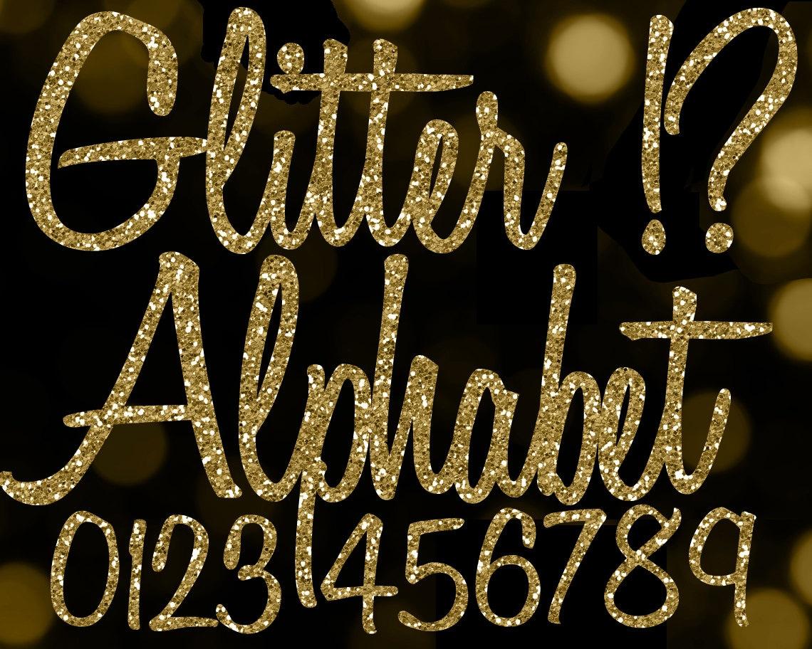 Gold glitter alphabet clipart glitter alphabet clip art gold zoom altavistaventures Gallery
