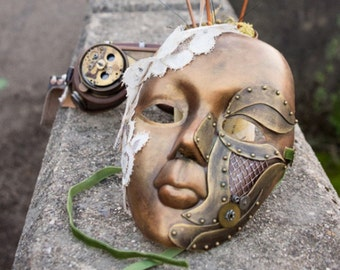 Steampunk mask for woman