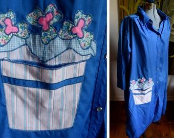 Large / Extra Large - Sweet House Dress - Model's Coat