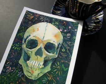 Symbiosis Postcard Art Print