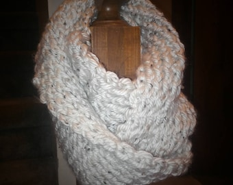 Double thickness infinity scarf