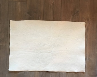 """Organic Wool Puddle Pad - 30"""" x 40"""""""
