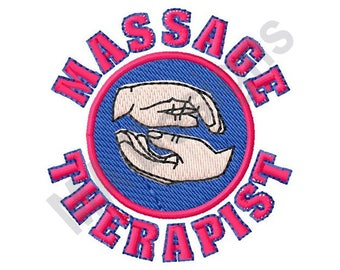 Massage Therapy - Machine Embroidery Design
