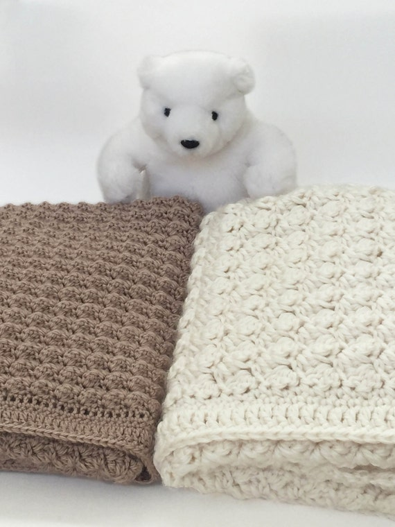 Chunky Crochet Baby Blanket Crochet Baby Blanket Pattern Bulky