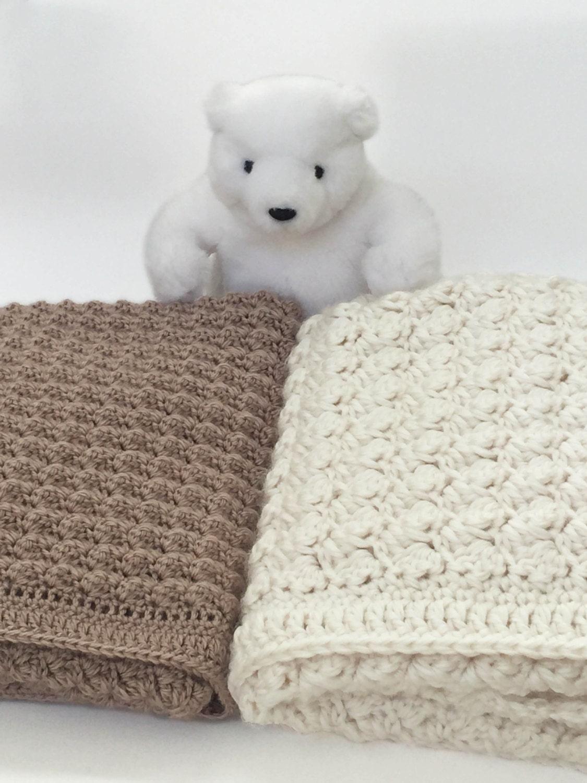 Chunky Crochet Baby Blanket - Crochet Baby Blanket Pattern - Bulky ...