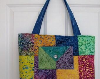 Charm Squares Tote Bag