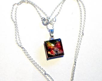 Small Pendant with Sterling Silver Chain