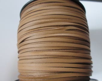 2.7 brown suede leather cord 1 mm