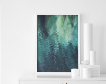 forest in the LAKE - A3 Artprint - Poster