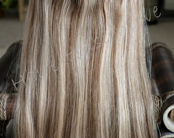 """20"""" 160g Miracle -HALO WIRE 100% Remy 4A human hair extensions, 160 grams./ 20"""""""