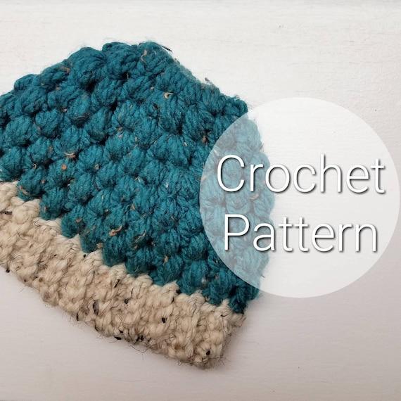 Kids Puff Stitch Ponytail Hat Kids Crochet Puff Stitch Hat Pattern