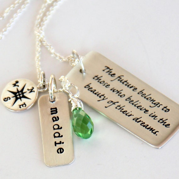 Graduation Quotes For Daughter: Graduation Necklace Graduation Gift For Daughter College