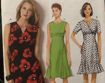 Easy to make sundress pattern for sizes 16, 18, 22, 24
