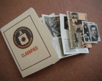 Miniature CIA File --- Kennedy Assasination