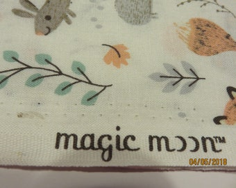 Magic Moon Forest Creatures  Nursery Cotton   3 Yards in Stock   Free Shipping