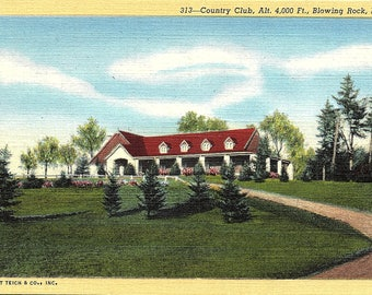 Blowing Rock, North Carolina, Country Club - Vintage Postcard - Postcard - Unused (III)