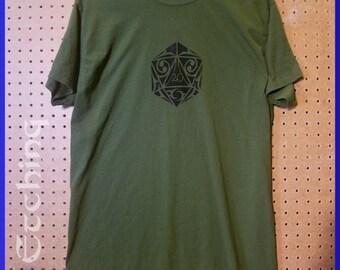 Custom D20 shirt