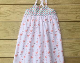 Lauren Flamingo Dress