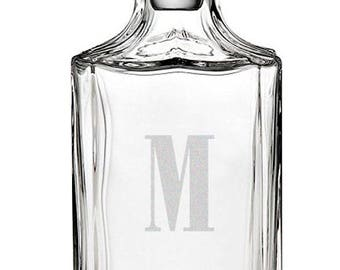 Personalized Engraved Whiskey Decanter, 25.5 oz.