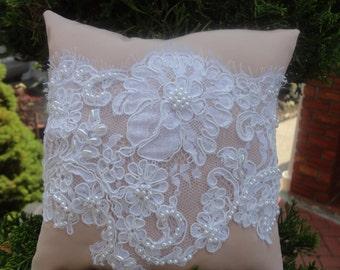 Silk Ring Bearer Pillow.