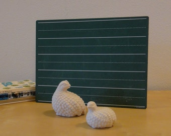 Vintage Ceramic Quail Figurines - Set of two
