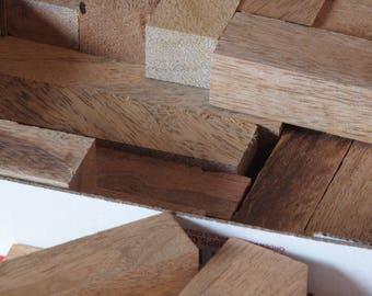 Exotic Wood Scraps - Mango