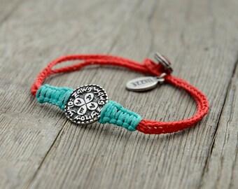Unisex Love and Relationships King Solomon Amulet Charm Handwoven Bracelet