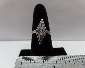 Vintage Sterling Silver Ring / FCM