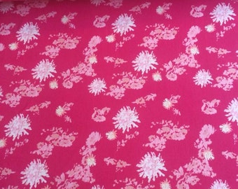 NEW Art Gallery Petal Strings Passion  on cotton Lycra  knit fabric 1 yard