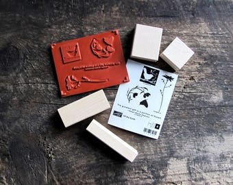 Stampin' Up! Wood-Mount Rubber Stamp Set - Of The Earth