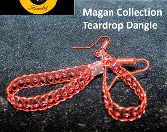 Handcrafted Copper Earrings by Celtic Creek Jewelry
