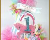 Carousel Pink Pony Birthd...