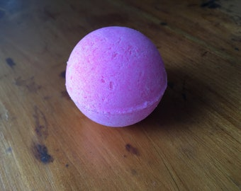 Pink Bath Bomb Bathbomb Soap Fizzy Spa Relaxing Relax Biodegradable Glitter Small Medium Large