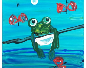 Hang in There Froggy!