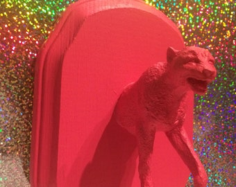 Faux Taxidermy - Hot Pink Cheetah