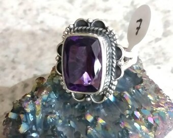 Amethyst Ring, Size 7