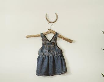Baby Girl's Denim Overall Dress