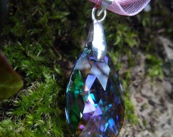 Swarovski crystal Paradise Shine Crystal Teardrop Pendant