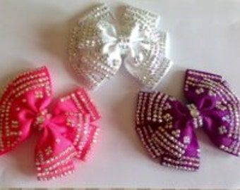 Irish Dancing Rhinestone Hair Bow