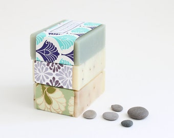 Gift Idea Soap, Soap Gift Set of 3, Handmade soap, Soap gift for mum, Homemade soap, housewarming gift nana gift gift for her Soap gift idea