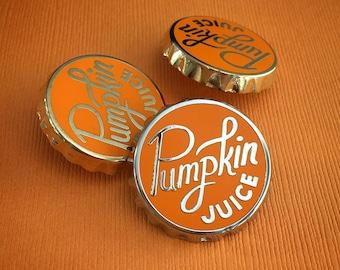 Pumpkin Juice enamel pin - lapel pin