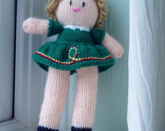 PDF Knitting Pattern - Irish Dancer